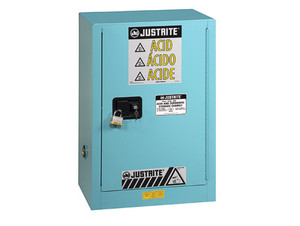 Justrite Sure-Grip Ex Compac Cabinets for Corrosives - 1 Door Self-Close - 44 in. x 23.5 in. x 18 in. - 15 - 1