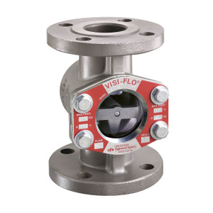 OPW 2 in. Carbon Steel VISI-FLO 1400 Series Flanged Sight Flow Indicators w/ Flapper