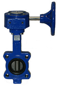 Smith Cooper Series 17 Ductile Iron Gear Operator Butterfly Valve -Lug Style - 2 1/2 in. - EPDM