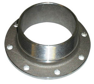 Betts 3 in. TTMA Flange x 3 in. Male NPT - Aluminum