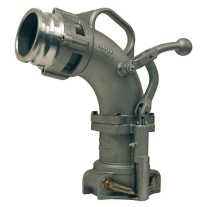 Dixon Bayco 6200 Series Drop Elbows w/ 4 in. Male Adapter - 17 3/4 in. H