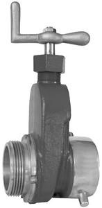 Flomax Brass Hydrant Gate Valve w/ Teflon Seals