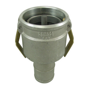Civacon 633CPP 4 in. Female Cam x Hose Shank w/ Probe, Check Valve, & Brass Paddle Arms