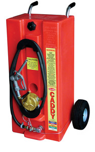 Todd 28 Gallon Gas Caddy w/ Standard Pump