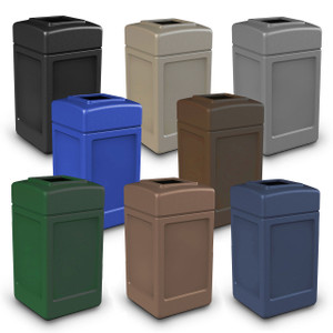 Commercial Zone 42 Gal Square Waste Containers