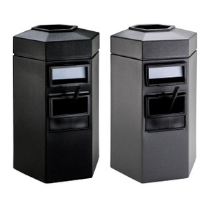 DCI 45 Gal Hex Waste/Windshield Units