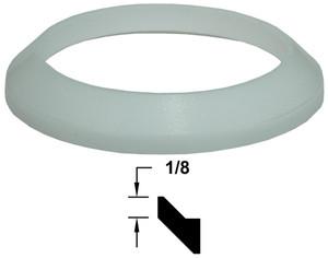 Dixon PTFE (Teflon) Bevel Seat Gaskets (White)