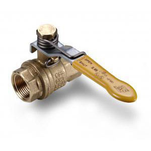 Morrison Bros. 691A Series 1/4 in. Spring Loaded Brass Ball Valve