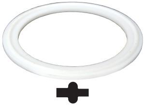 Bradford PTFE (Teflon) Pipe Gaskets - White