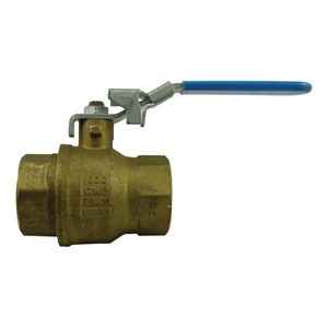 Morrison Bros. 691B Series 1/4 in. Locking Brass Ball Valve - Full Port