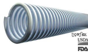 Kuriyama Tigerflex MILK-LT Series Food Grade Liquid Milk Low Temp Transfer Hose Only
