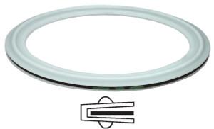 Bradford PTFE Envelope Clamp Gaskets w/ EPDM Filler