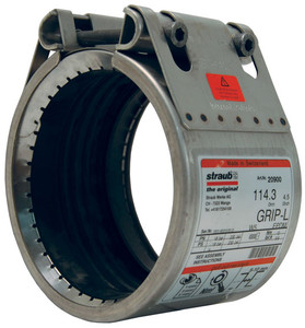 Dixon Straub Grip-L Axial Restraint Stainless Steel Pipe Couplings