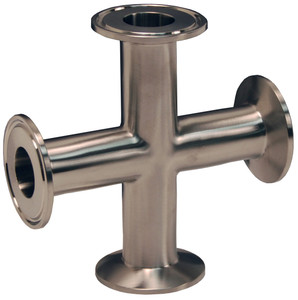 Bradford B9MP Series 316L Stainless Clamp Crosses