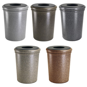 DCI 50 Gal StoneTec Waste Containers