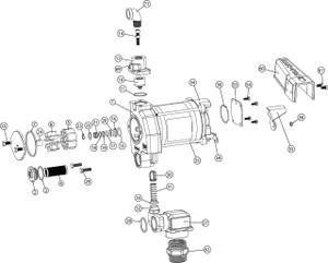 Fill-Rite FR701V 115V AC Fuel Transfer Pump w/ Manual