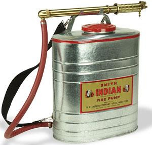 Indian Fire Pump 5 Gallon Galvanized Fire Pump