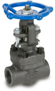 Sharpe Carbon Steel Class 800 Gate Valve - Threaded or Socket Weld
