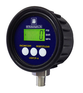 SSI MG1-9V 2 1/2 in. Digital Pressure Gauge