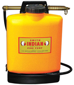 Indian Fire Pump and 5 Gallon Poly Tank