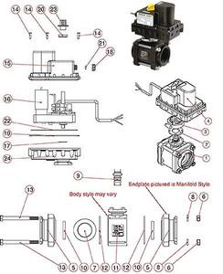 """Banjo 2"""" Full Port Electric Ball Valve Repair Kit"""