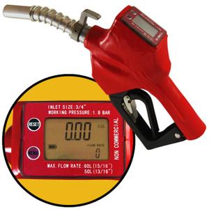Automatic Diesel Nozzle with Built-in Digital Meter