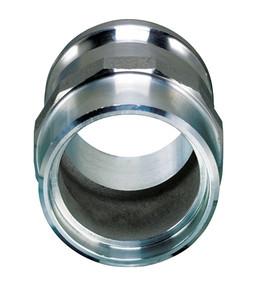Aluminum Part F Male Adapter Butt Weld