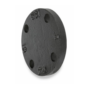 Smith Cooper 125# Cast Iron Black Blind Flange