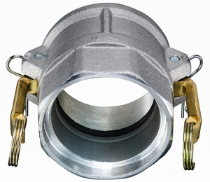 Kuriyama Aluminum Part D Female Coupler Socket Weld