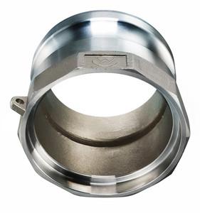 Stainless Steel Male Adapter x Socket Weld