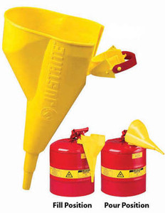 Justrite Slip On Poly Funnel
