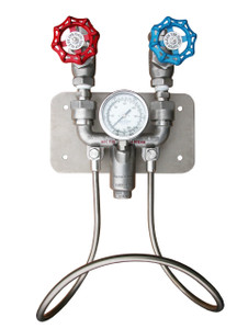 SuperKlean 3600M-S Series Stainless Steel Hot & Cold Water Mixing Unit