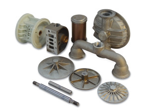 Non-Elastomer Replacement Parts for Wilden 1 1/2 in. AODD Pumps