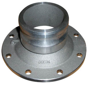 Dixon Aluminum 3 in. Adapter x 4 in. TTMA Flange
