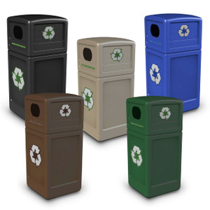 Commercial Zone 42 Gal Recycling Containers