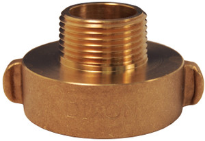 Dixon 1 1/2 in. Female x Male Brass Rocker Lug  Hydrant Adapters