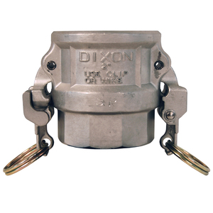 Dixon EZ Boss-Lock Stainless Steel Socket Weld Coupler