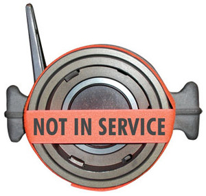 Not In Service VELCRO® Brand Strap For API Couplers