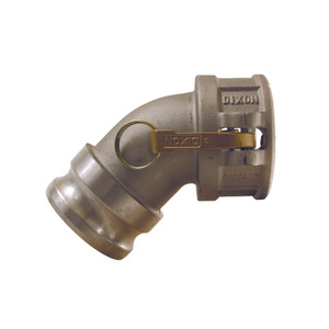 Dixon Aluminum Male Adaptor x Female Coupler 45° Elbows