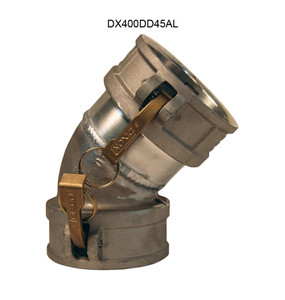 Dixon Aluminum Female Coupler x Female Coupler 45° Elbows