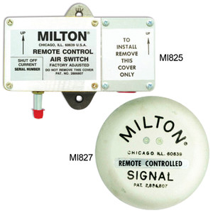 Milton Remote Control Air Switch Signal Bell-Chime