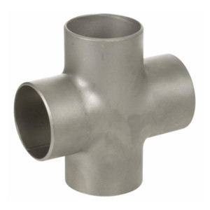 Smith Cooper 304 Stainless Steel 3 in. Cross Weld Fittings - Sch 10
