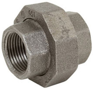 Smith Cooper 150# Black Malleable Iron 1/2 in. Union Pipe Fittings - Threaded