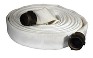 Key Fire Hose 1 1/2 in. Double Jacket Fire Hose w/ Aluminum NPSH Couplings