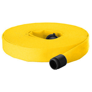 Dixon Powhatan 1 1/2 in. Forestry Fire Hose Non-Weeping w/ NH (NST) Rocker Lug Couplings