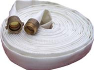 Superior Fire Hose 1 3/4 in. Single Jacket Industrial Hose w/ NH (NST) Aluminum Couplings