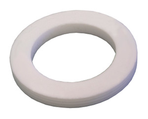 Dixon 1 1/4 in. PTFE (TFE) Accordion Cam & Groove Gasket (White)