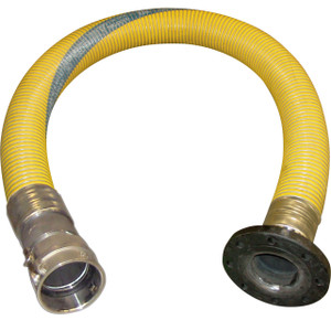 U.S. Hose PGL Composite 4 in. Transfer Hose Assembly w/ Female Camlock x 150# Flange Ends