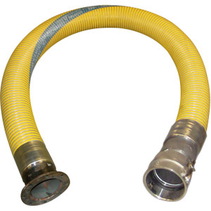 U.S. Hose PGL Composite 4 in. Transfer Hose Assembly w/ TTMA Flange x Female Camlock Ends