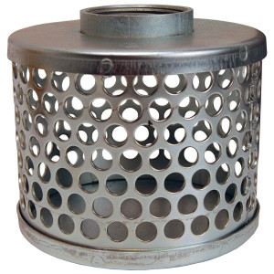 Dixon 304 Stainless Steel Standard Round Hole Strainers
